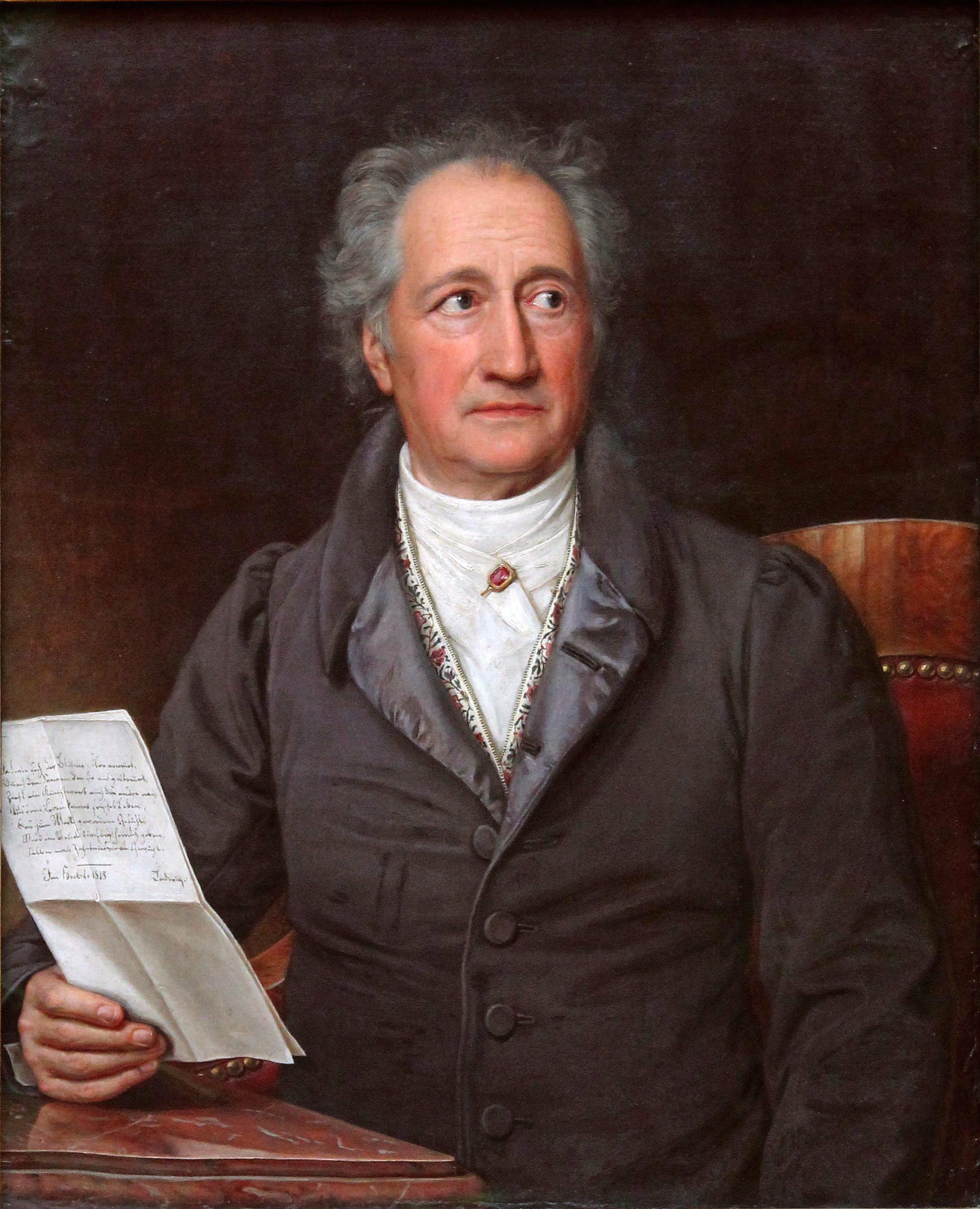 Johann Wolfgang Goethe, un ecrivain romantique