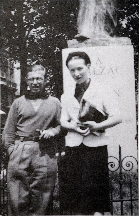 histoire et biographie de simone Beauvoir