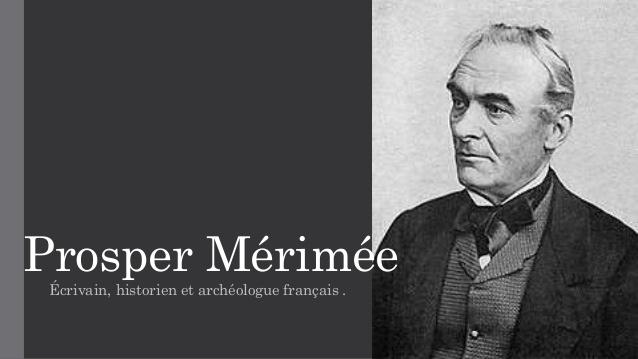 Prosper Mérimée, un écrivain romantique
